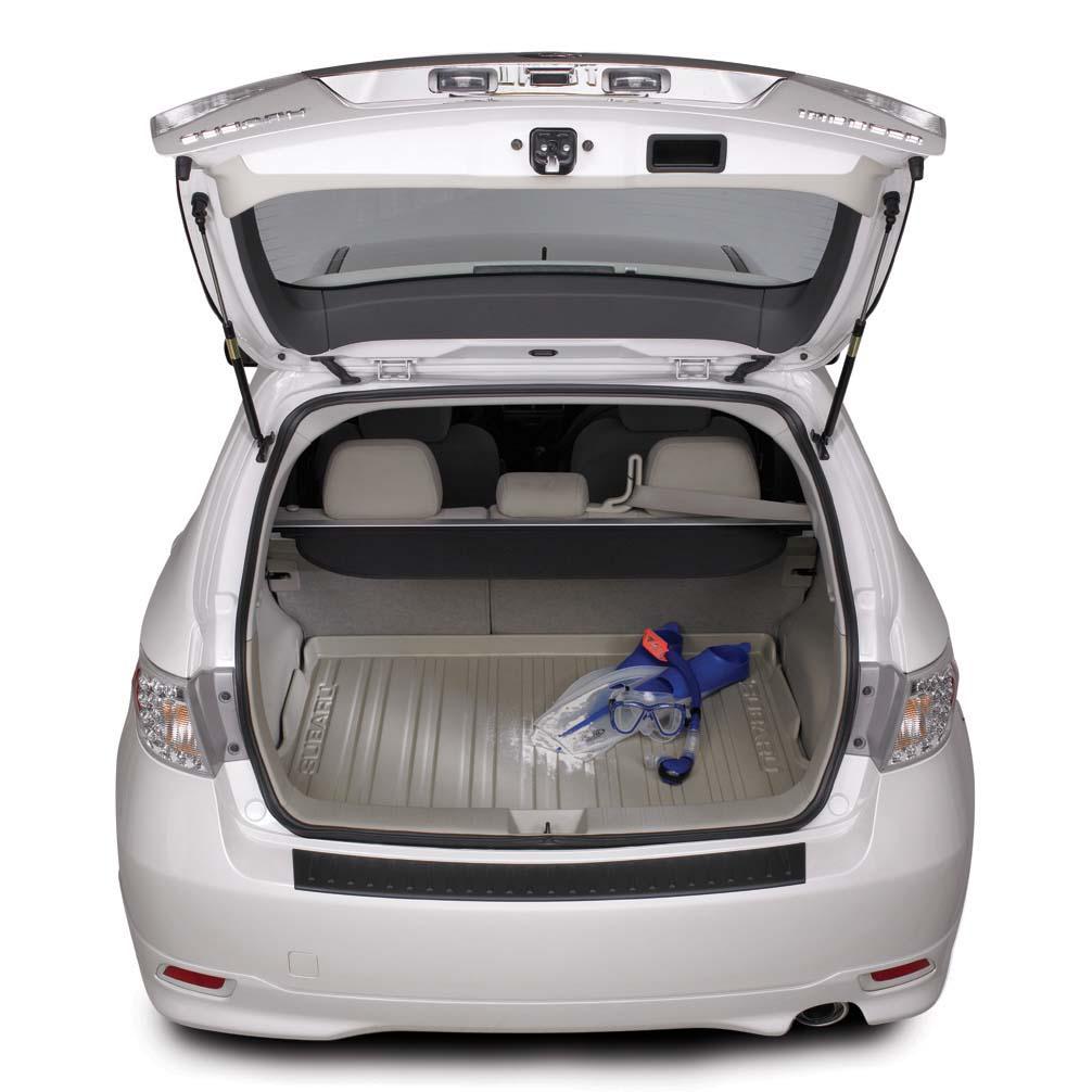 2008 Subaru STI Cargo Tray 5Door - Ivory. CARGO TRAY IVORY ...
